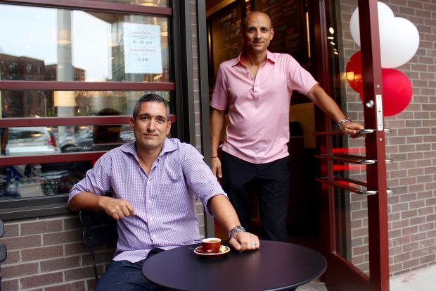 Spiro (left) and John Gatanas, the owners of DinerBar.