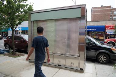 The bill from Councilman Dromm and State Sen. Peralta follows the installation of a controversial kiosk on 37th Avenue.