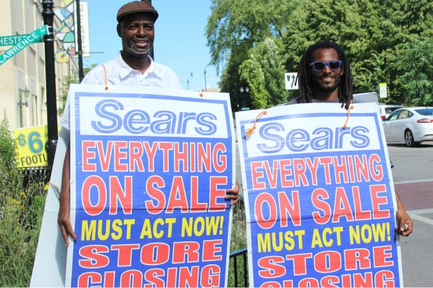 Lawrence Avenue Sears closing sale.