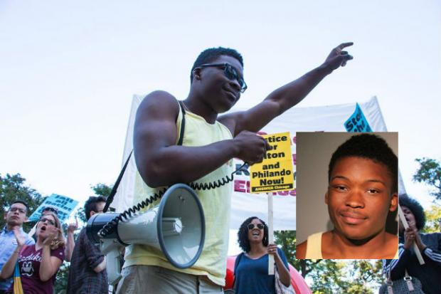 Activist Ja'Mal Green faces seven charges in the aftermath of Saturday's protest.