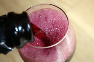 Certain red wines such as lambrusco are best served slightly or fully chilled.