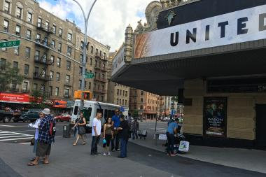 Dozens of activists worked the streets in Northern Manhattan over the weekend, collecting signatures from residents to stop Sherman Plaza in Inwood.