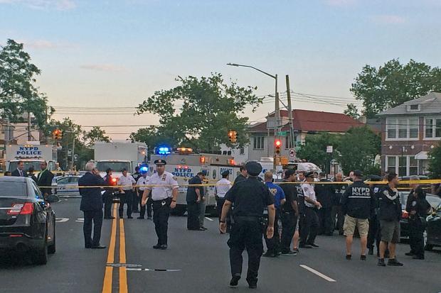 A man was fatally shot by police on 78th Street near Stillwell Avenue in Brooklyn on July 11, 2016.