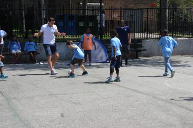P.S. 19 will get a new soccer field as part of the city's new initiative to open 50 around the five boroughs.