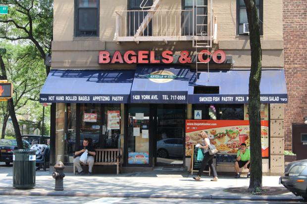 Police say Cronin tried to break into Bagels & Co. on York Avenue.