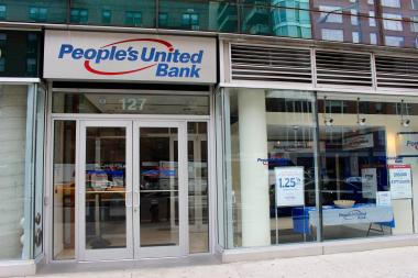 People's United Bank at 127 Seventh Ave., between West 17th and 18th streets.