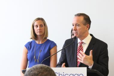 CPS CEO Forrest Claypool said state money has helped keep per-pupil funding steady for next year.
