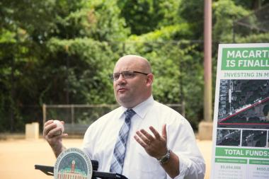 The city released an RFP for the design of the elevation of Travis Avenue to help curb flooding on the street, Councilman Steven Matteo announced.