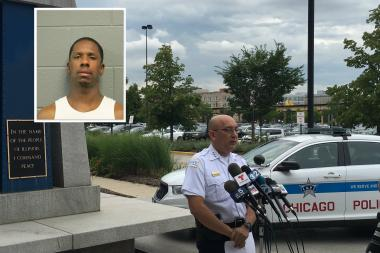 Deputy Supt. John Escalante said gun violence in Chicago driven by a small population that includes many convicted criminals, like Raygene Jackson (insert), convicted of murder in 1995 and shot dead Sunday.