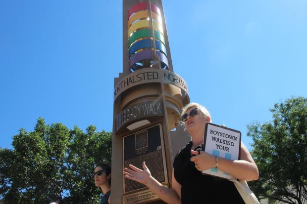 Chicago by Chicagoans designed a walking tour in Boystown for architecture buffs and fans of LGBTQ history.