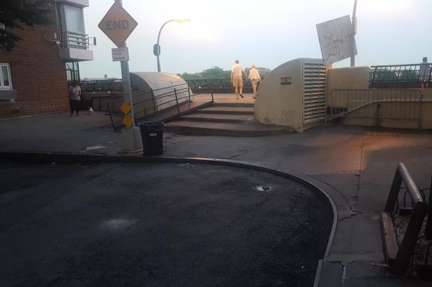 Ues Residents Want Benches Painted Lanes At Esplanade 39 S