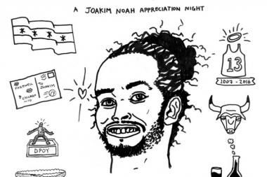 Joakim Noah Appreciation Night