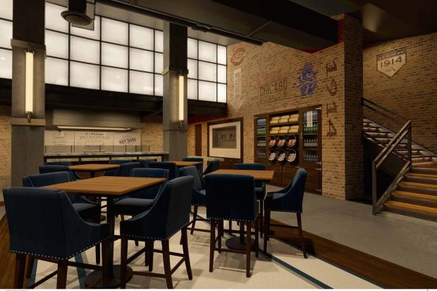 Chicago Cubs Unveil Plans For Premier 1914 Club At Wrigley