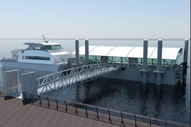 Mayor Bill de Blasio announced Wednesday that Red Hook's citywide ferry landing would be located at Atlantic Basin.