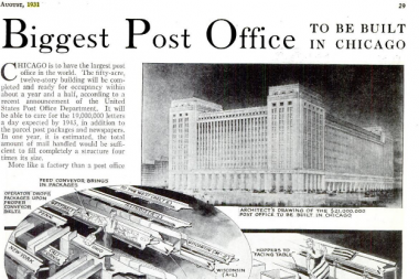 Old Main Post Office Renovation To Begin 39 Immediately 39 Rahm Announces Downtown Chicago