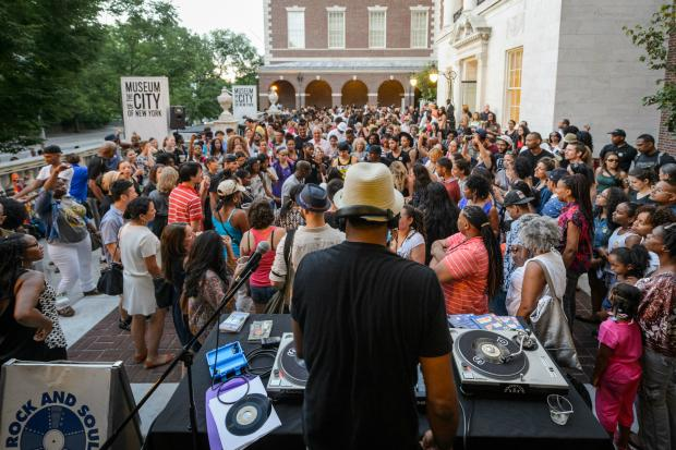 Museums Uptown Bounce Block Party Pays Tribute To Prince Upper East Side New York DNAinfo