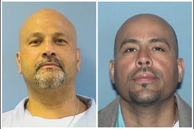 Jose Montanez (l.) and Armando Serrano had been wrongfully convicted in a 1993 Humboldt Park murder.