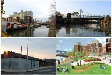The area around the heavily polluted Gowanus Canal is undergoing big changes.