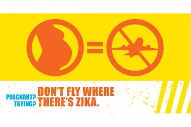 The city's Department of Health started a campaign to warn pregnant women or women trying to become pregnant not to travel to areas where Zika is prevalent.