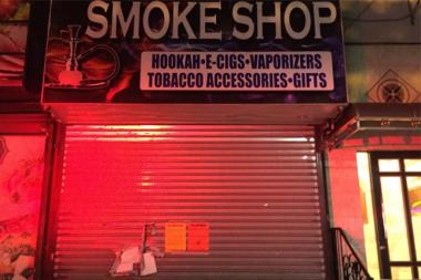 Dream Burner Smoke Shop was closed Wednesday after the NYPD filed nuisance abatement actions Big Boy Deli at 930 Broadway and the smoke shop at 926 Broadway in Brooklyn.