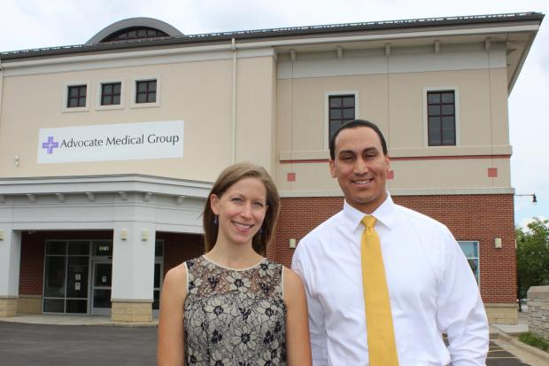 Dr. Tiffany Groen is the lead physician at the new AdvocateCare Center in Beverly. Jonathan Hoffsuemmer is the director of operations at the senior care facility that replaces the Borders bookstore at 2210 W. 95th St.