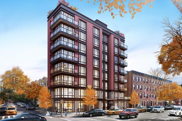 A rendering of 344 Butler St., also known as 141 Fourth Ave., the condo development planned by Arbie Development.