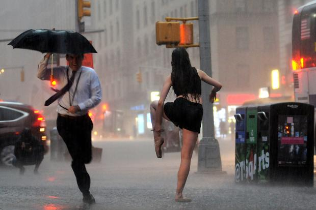 Thunderstorms Headed to NYC on Latest Day of Heat Wave ...