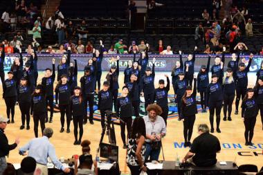 More than 50 dancers from PMT Dance Studio performed at Madison Square Garden.