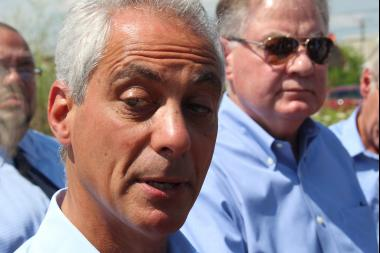 Mayor Rahm Emanuel touted academic gains made by CPS students and said Gov. Rauner needs to recognize them.