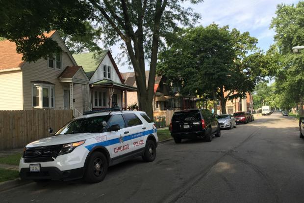 Two people were killed and two others wounded in a shooting in the 800 block of West 50th Place Thursday morning, A 16-year-old girl who witnessed the shooting died from an asthma attack.