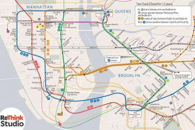New York Subway Map G Line.Run E Train On G Line During L Train Shutdown Transit Advocates