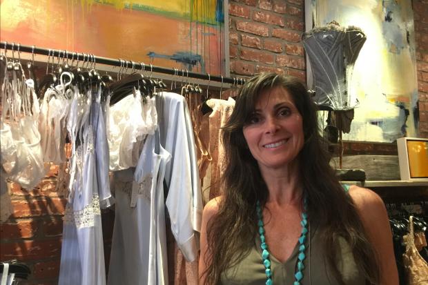 Longtime set designer Holly Boardman wants lingerie to be