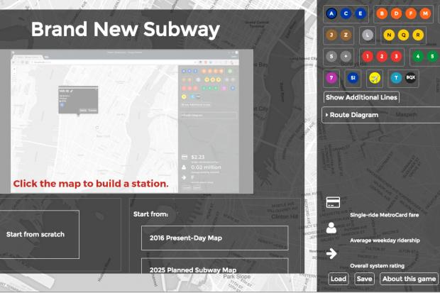 Build Your Own Subway Map.Redesign The Subway System To Your Heart S Content With Interactive