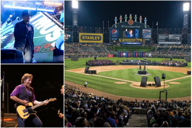 For the first time in 13 years, U.S. Cellular Field will host a concert.
