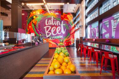 Latin Beet Kitchen, the new quick-eats spot carved out of the Flatiron's Raymi, offers an array of Peruvian lunch and breakfast options.