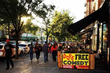 Dope Comedy takes place each Saturday at The Park View Cafe.