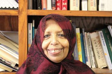 Zubeda Begum Yasin, 67, is from Karachi, Pakistan.