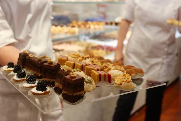 Scores of desserts are available in the new, expansive Eataly.