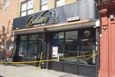 Julio Lebronwas found with gunshot wounds inside BelieveBeauty Salon in East Tremont, police said.