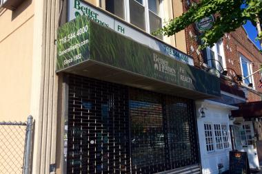 The Better Homes and Gardens office, at101-15 Metropolitan Ave., closed in early July.