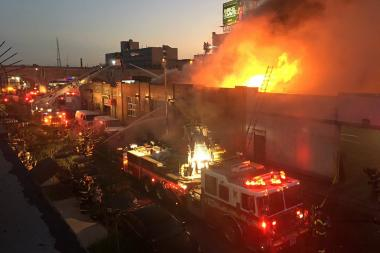 2 Firefighters Seriously Hurt Battling Huge Sunnyside Fire, FDNY Says