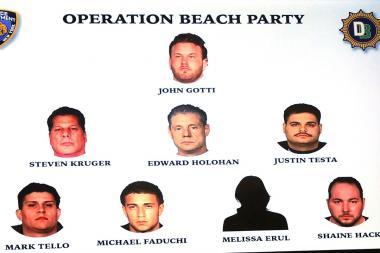 John Gotti's alleged crew.