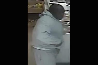 This man is being sought by police for beating a 48-year-old man with a baseball bat on Albany Avenue on Sunday.