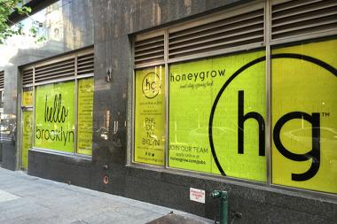 Philadelphia-based healthy restaurant chain honeygrow will open its first New York location at 194 Joralemon St. in Brooklyn Heights early next year.