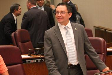 Ald. Raymond Lopez (15th) reportedly has been threatened by a Southwest Side gang.