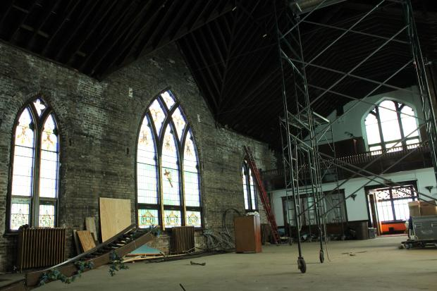 A church in Logan Square is being transformed into a circus arts school.