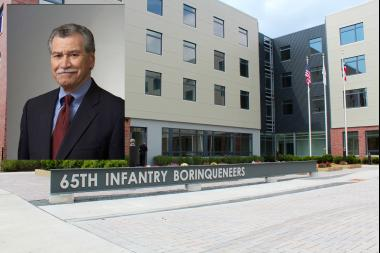 "Hipolito Roldan celebrated the opening of the 65th Infantry Regiment ""Borinqueneers"" Veterans Housing opened in Humboldt Park Tuesday."