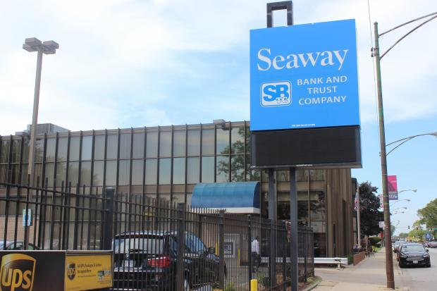 Pastors came together Tuesday to urge the community to open an account with Seaway Bank.