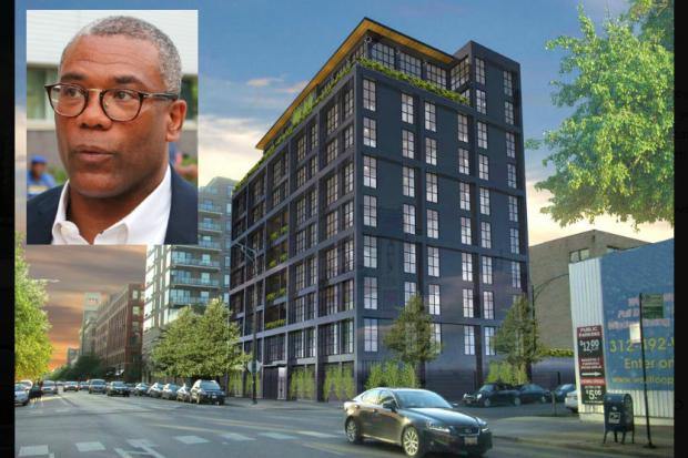 After complaints from nearby neighbors, Ald. Walter Burnett Jr. (27th) said he can't yet sign off on a plan to build 22 high-end luxury condos on Washington Boulevard.