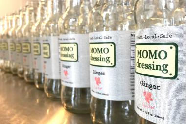 MOMO Dressing officially opened its new manufacturing space at the Brooklyn Army Terminal Wednesday morning.